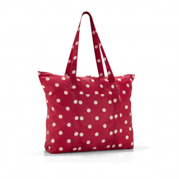 AE3014 Reisenthel mini maxi Travelshopper ruby dots