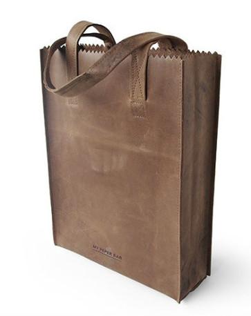 MY PAPER BAG Long handle Original Zipper