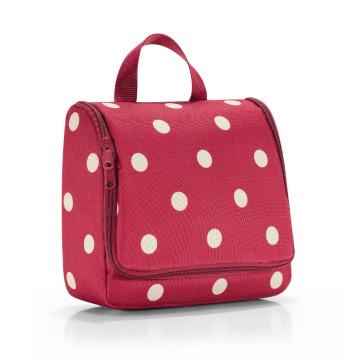 Reisenthel toiletbag red ruby