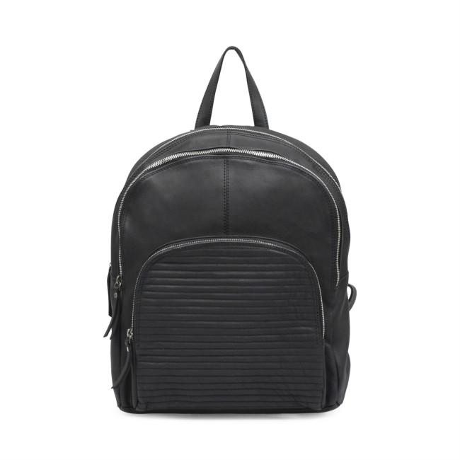 sort rygsæk læder