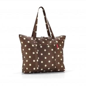 AE6018 Reisenthel mini maxi Travelshopper mocha dots