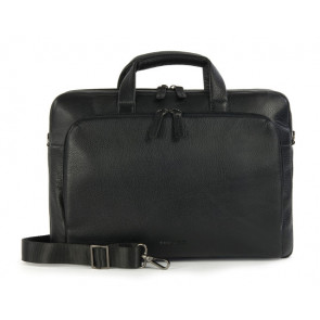 "Tucano One Premium Slim 15"" læder sort"