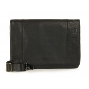 "Tucano One Premium Clutch 11"" læder sort"