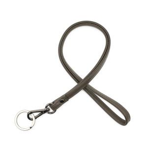 Verivinci læder nøglesnor classic round sort